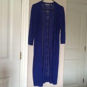 Valerie Stevens 2Pc Sweater/Long Cardigans  M